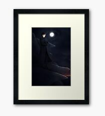 man on the tor Framed Print
