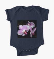 Purple orchids One Piece - Short Sleeve
