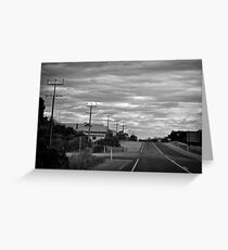 Small Town, S.A. Greeting Card