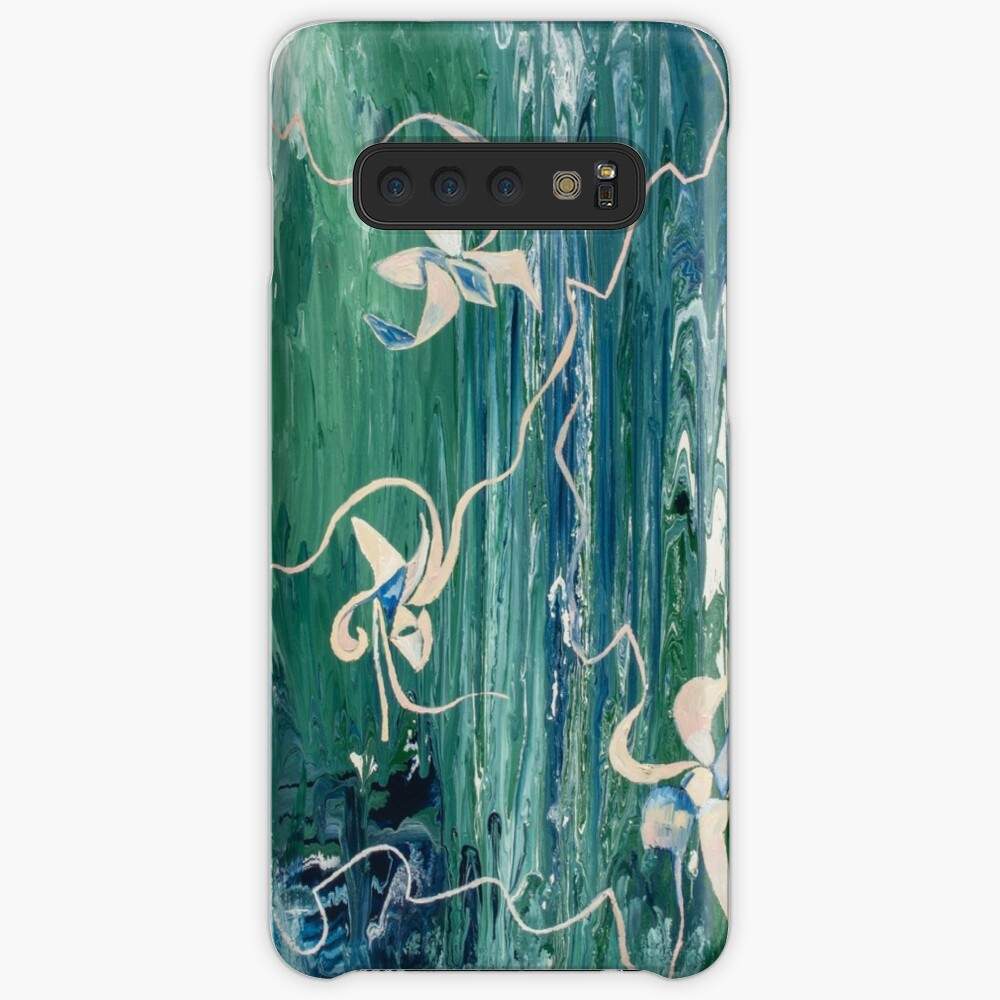 abstract water surface Samsung Galaxy Snap Case