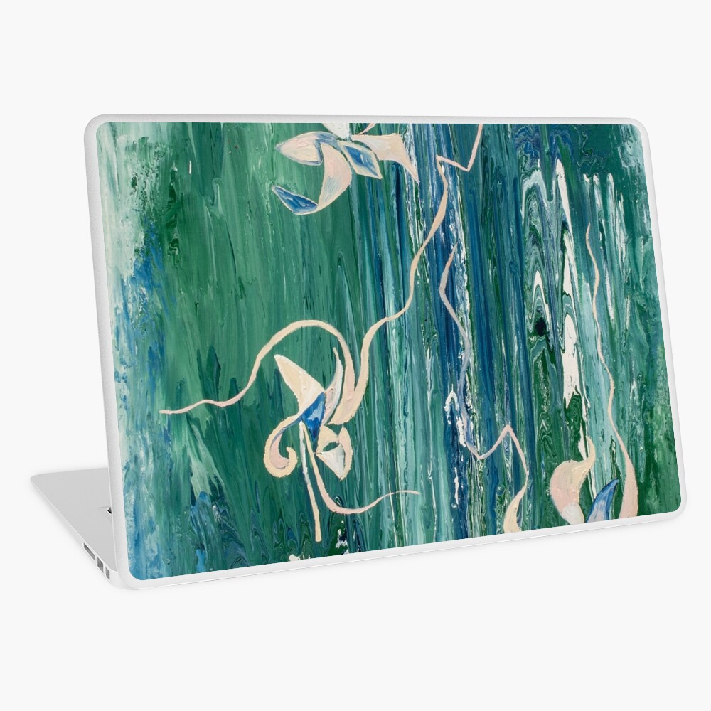 abstract water surface Laptop Skin