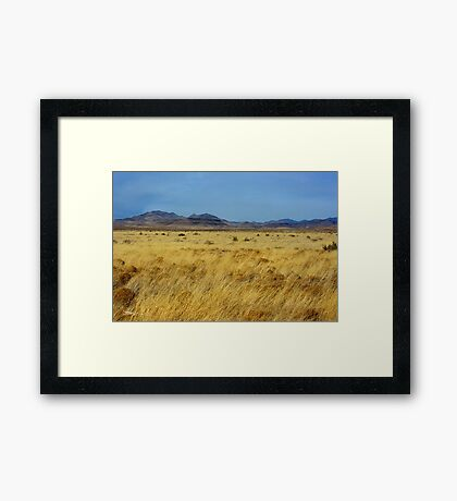 Table Butte ~ Southwest New Mexico Framed Print