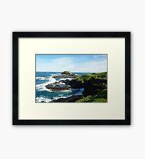Coastline Phillip Island Australia Framed Print