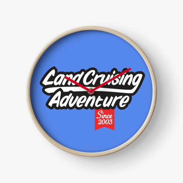 Landcruising Adventure since 2003 Clock