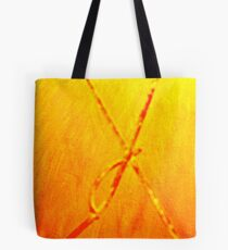 an X from inside the wall! Tote Bag