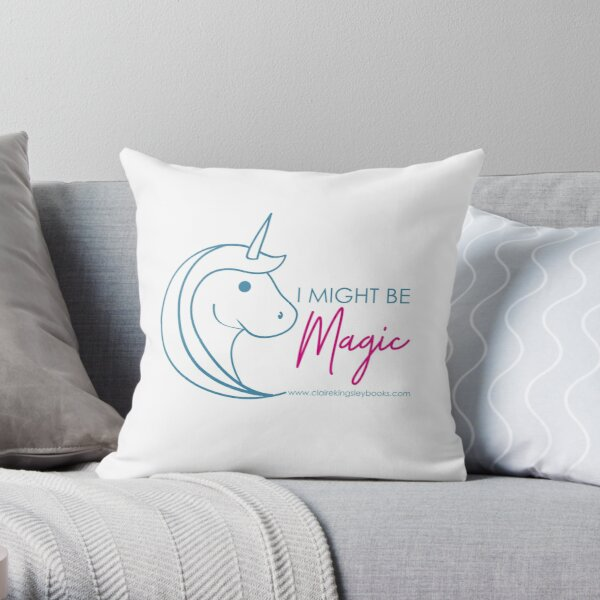 Might be Magic Throw Pillow