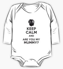 Are You My Mummy? Long Sleeve Baby One-Piece