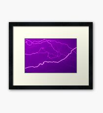 Mapping Purple #11 - NSW Framed Print