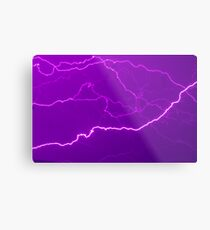Mapping Purple #11 - NSW Metal Print