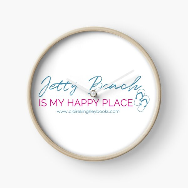 Happy Place Clock