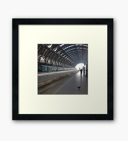 Milan - I Travel Framed Print