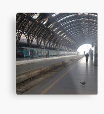 Milan - I Travel Metal Print