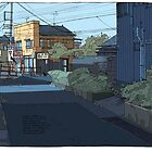 Laneway Crows by David  Kennett