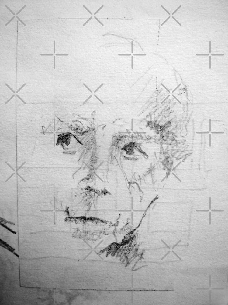 Sketch Book - Grandma by Hekla Hekla