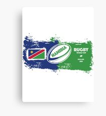 Namibia Rugby World Cup Canvas Print