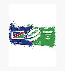 Namibia Rugby World Cup Photographic Print
