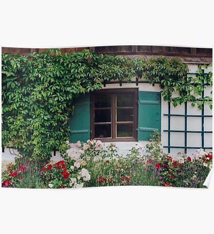 The Charming Garden Poster