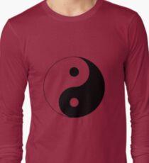 """""""Yin Yang"""" Clothing Long Sleeve T-Shirt"""