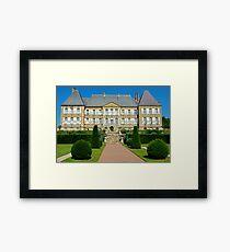 Chateau Dree, Burgundy, France Framed Print