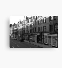Glasgow streetscape 1 Canvas Print
