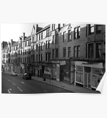 Glasgow streetscape 1 Poster