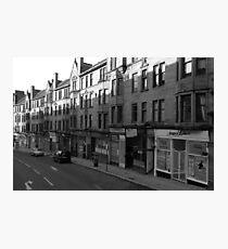 Glasgow streetscape 1 Photographic Print