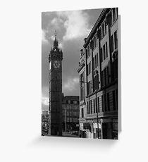 Glasgow streetscape 2 Greeting Card