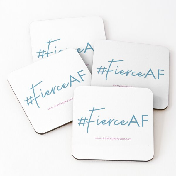 Fierce AF Coasters (Set of 4)