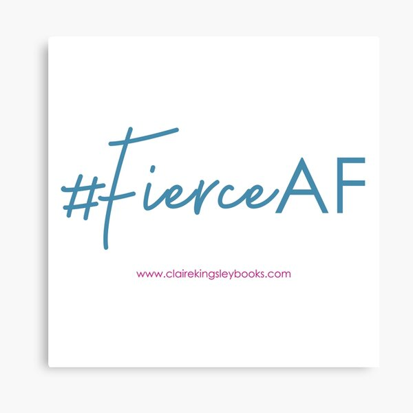 Fierce AF Canvas Print