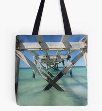 Eucla Old jetty Tote Bag