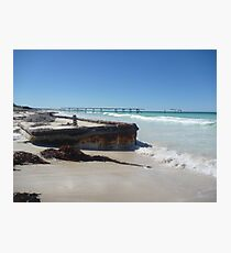Eucla Old Jetty 2 Photographic Print
