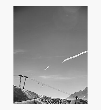 Verbier: a Grand Ski Resort Photographic Print