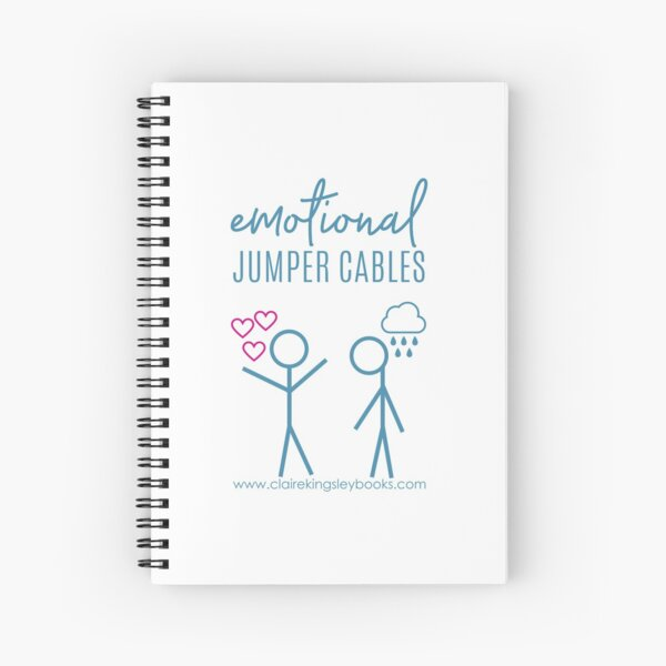 Emotional Jumper Cables Spiral Notebook
