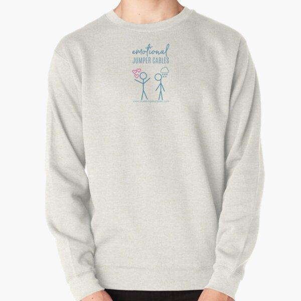 Emotional Jumper Cables Pullover Sweatshirt