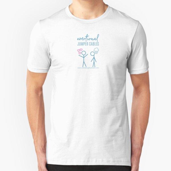 Emotional Jumper Cables Slim Fit T-Shirt