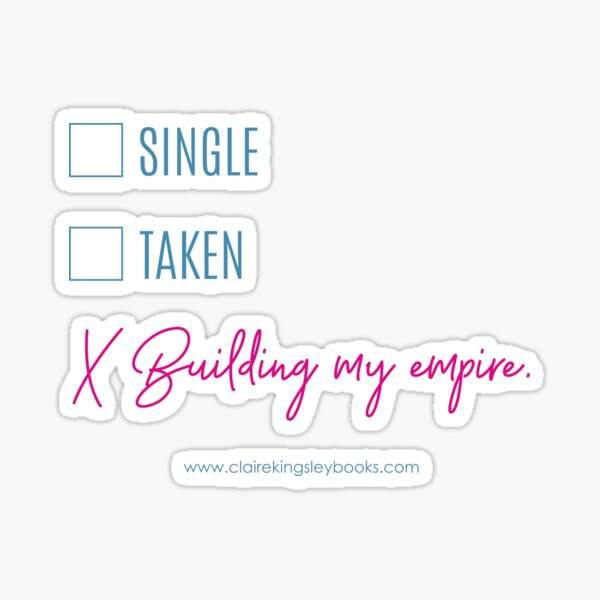 Building My Empire Sticker