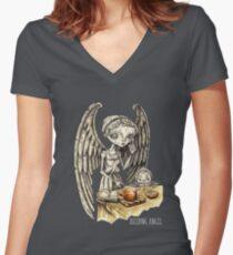 Onion Soup Women's Fitted V-Neck T-Shirt