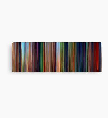 Moviebarcode: The Lion King (1994) Canvas Print