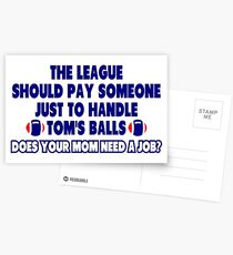 How To Handle Tom's Balls Postcards