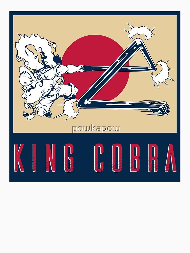 Monkey D. Luffy Gear Fourth - King Cobra Japan by powkapow