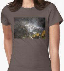 Beneath The Waterfall Fitted T-Shirt