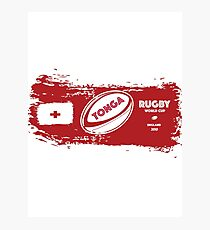 Tonga Rugby World Cup Photographic Print