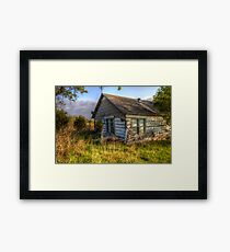 The Left Behind Recliner Framed Print
