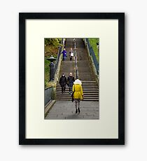 Made you look Framed Print
