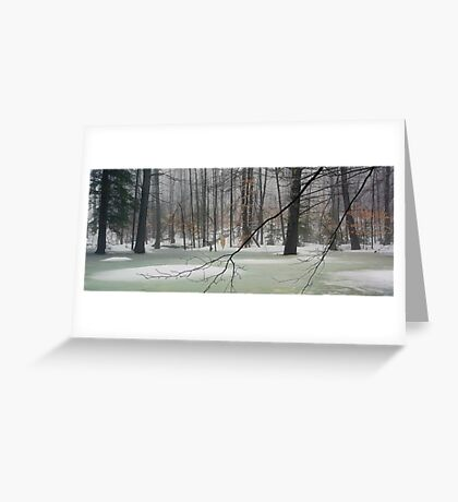 Vernal Pool - Early April Greeting Card