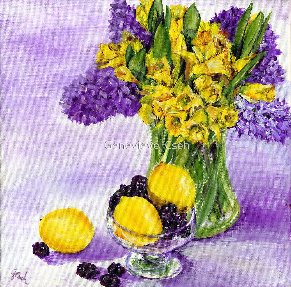 Spring by Genevieve  Cseh