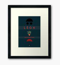 Léon :The Professional Framed Print