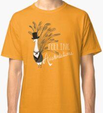 Camiseta clásica Pavo real y prejuicio