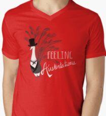 Peacock & Prejudice Men's V-Neck T-Shirt