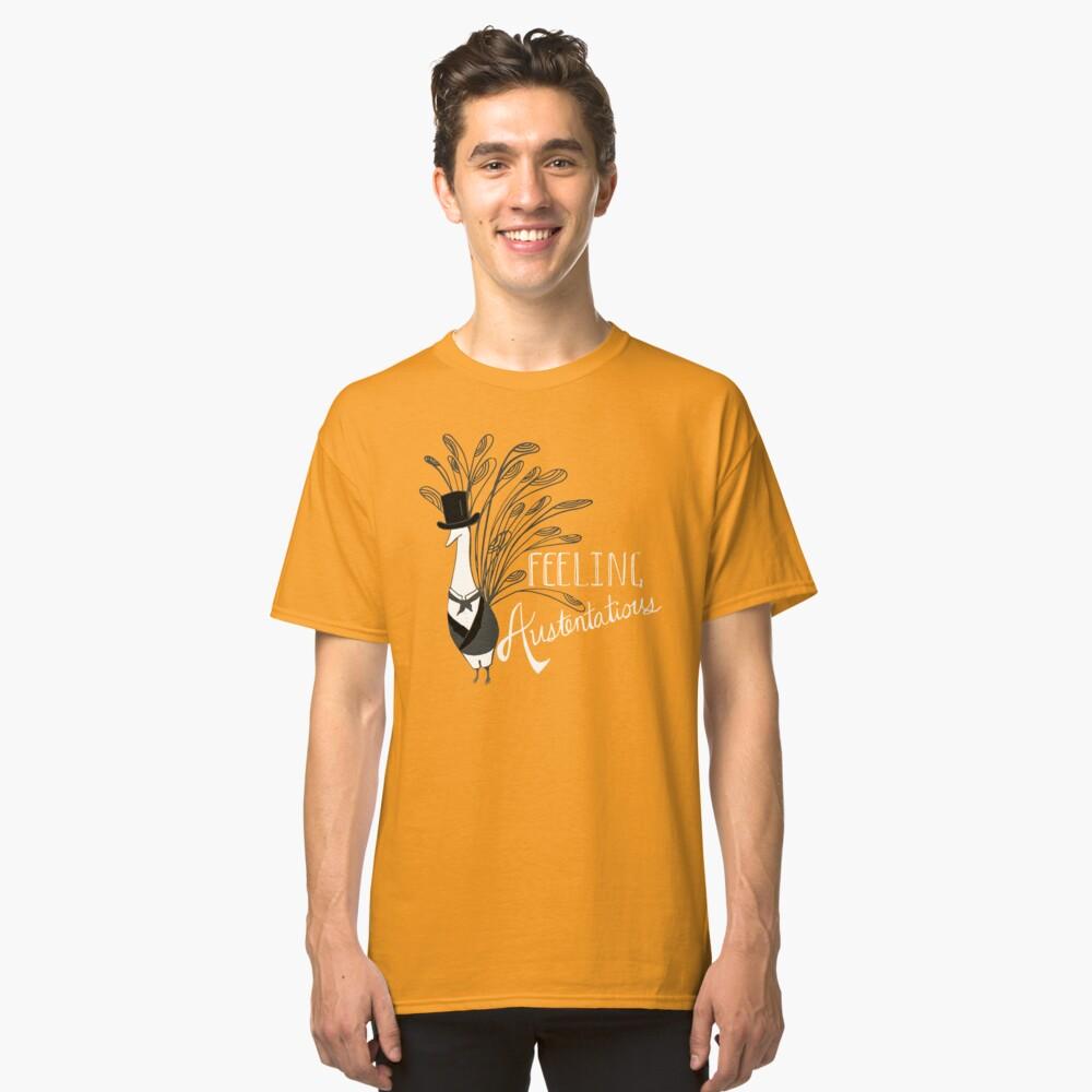 Peacock & Prejudice Classic T-Shirt Front